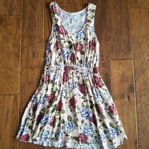Talula Roppongi Peach Floral Dress with Pockets!